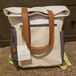 Cloud Island Diaper Bag